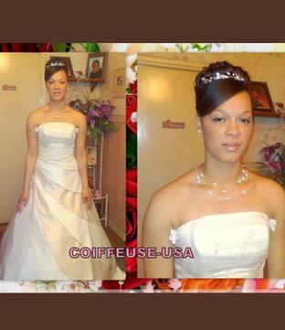 CHRISTINE - CHIGNON DE MARIAGE