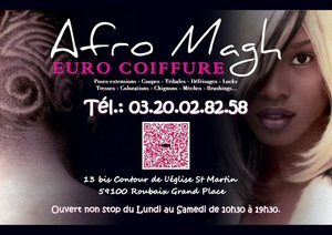 Afro Magh Euro coiffure